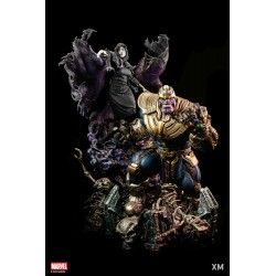 Thanos with Lady Death -...