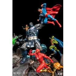 JLA vs. Darkseid - Ver. A...