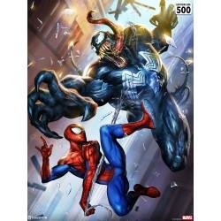 Spider-Man vs Venom by Dave...