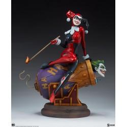 Harley Quinn and The Joker...