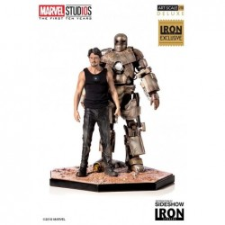Iron Man Mark I & Tony...
